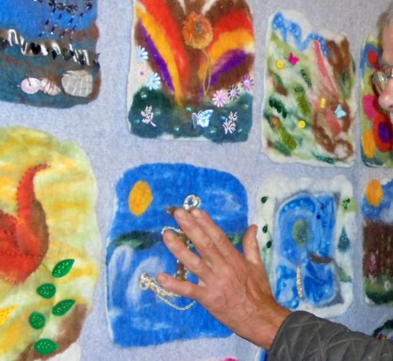 Exhibiting Memory Tapestry